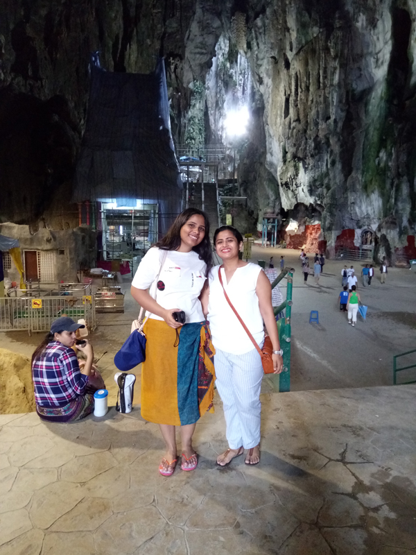 Inside Batu Caves