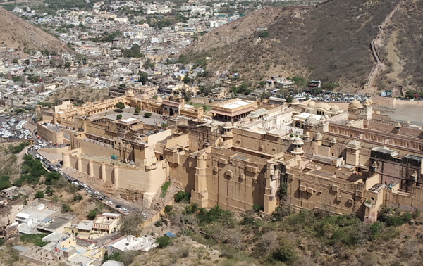 Full Amer Fort photograph