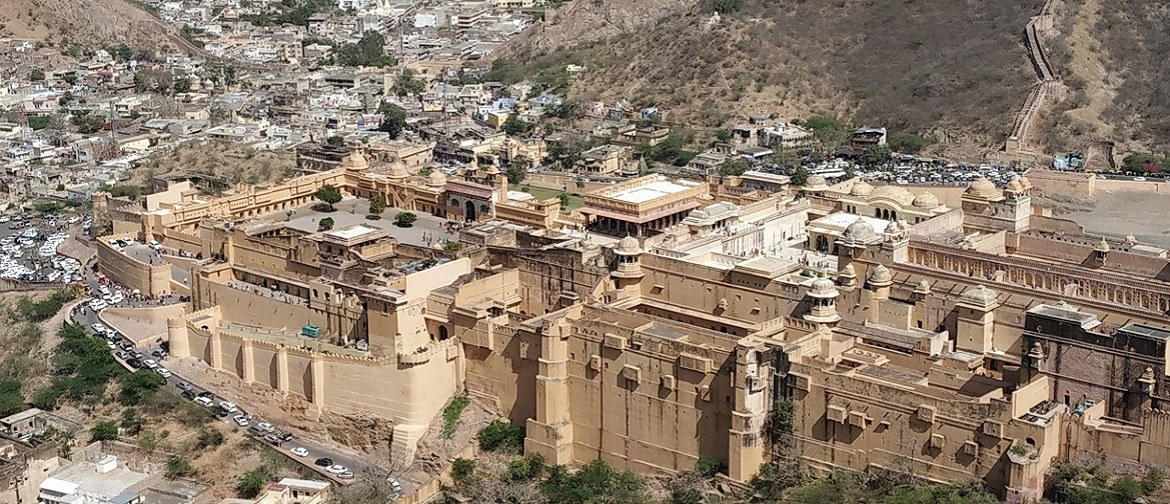 Amer Fort top view
