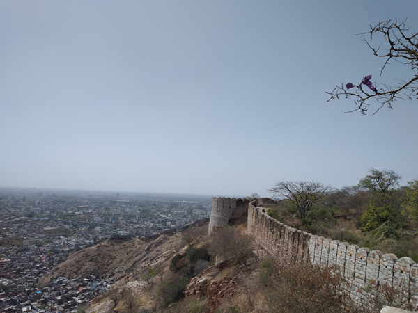 Great Wall of Nahargarh Fort