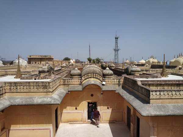 Nahargarh Fort Architecture