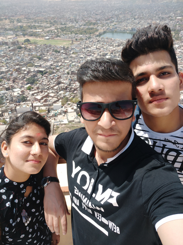 Above Jaipur City