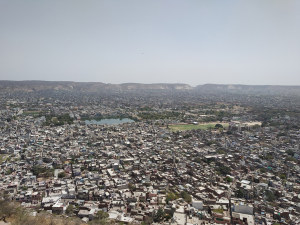 View of Jaipur city