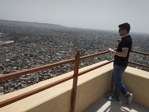 Nahargarh Fort top view