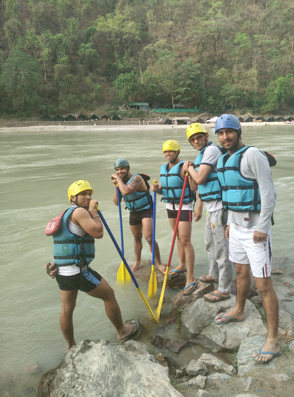 Rafting in Rishikesh, Uttrakhand