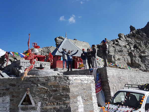 Temple at Sach Pass